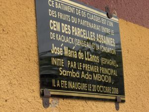 Placa en Kaolack Senegal